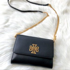 TORY BURCH Britten Chain Wallet Crossbody